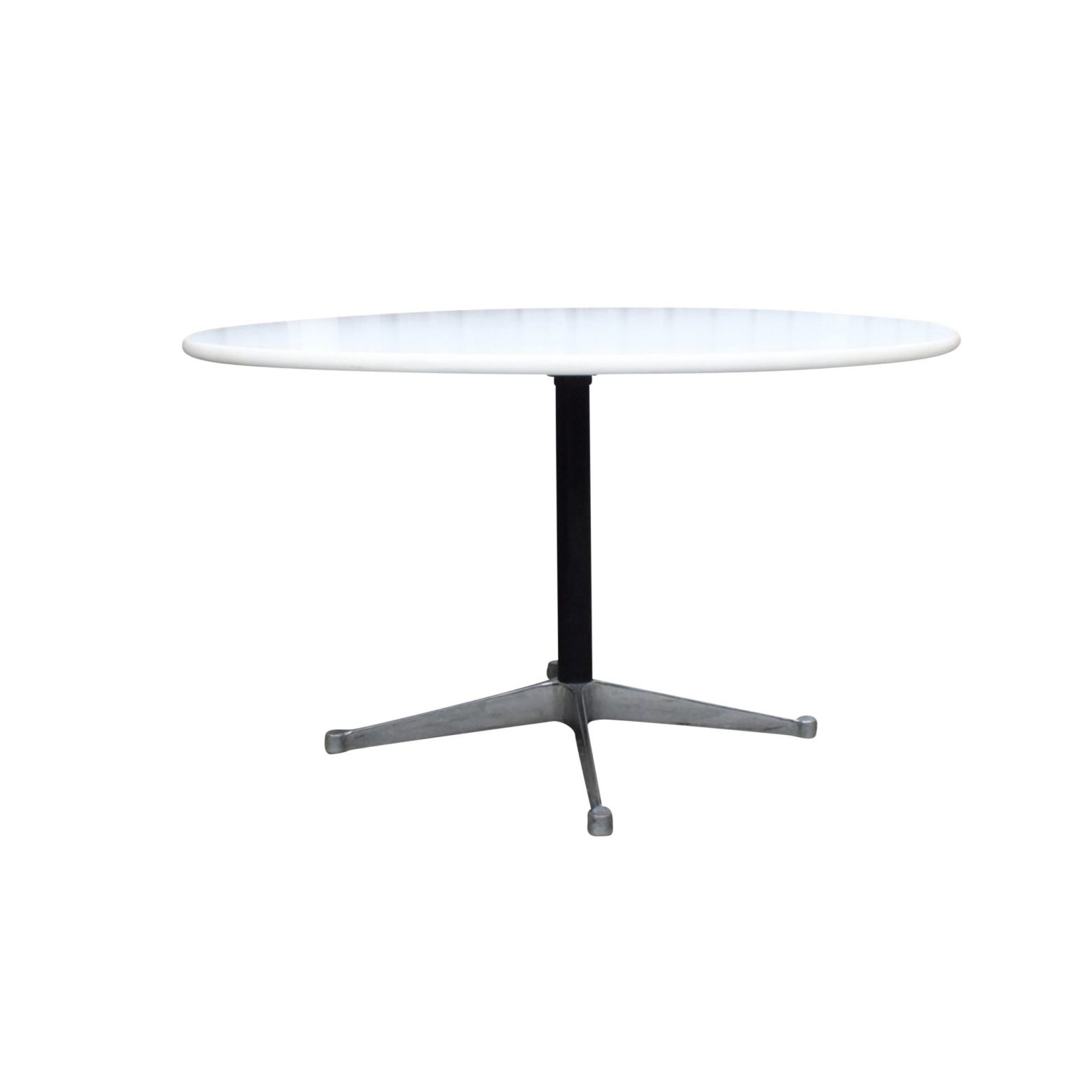 Round Dining Table By George Nelson For Herman Miller Usa 1970s Redesignable