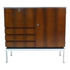 belgian rosewood bar cabinet