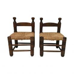 Charles Dudouyt Rush chairs